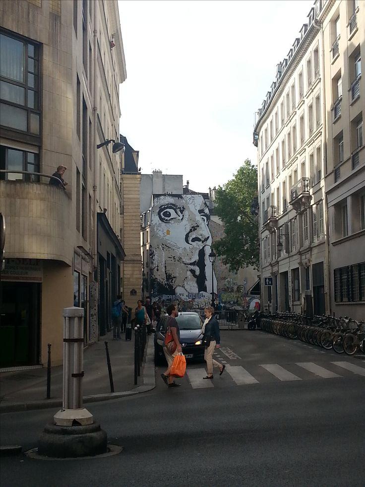 Across from Pompidou