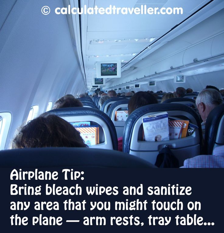 Airplane Tip for Your Health | Calculated Traveller Magazine