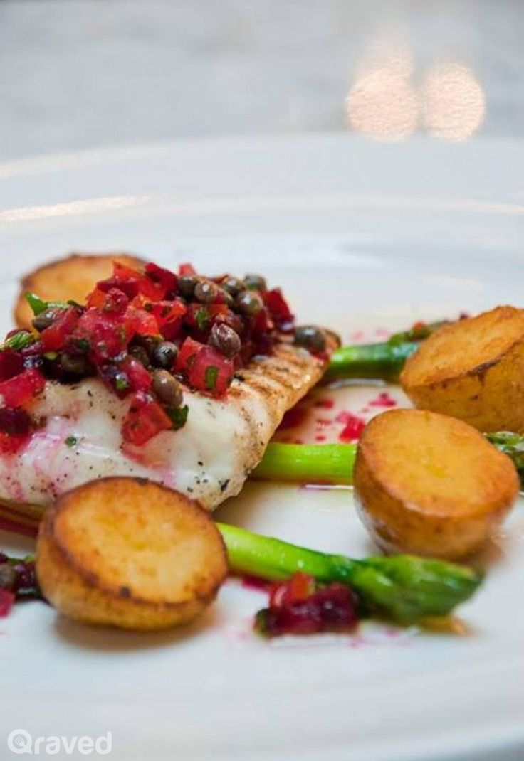 Grilled halibut, Potato heads and Halibut on Pinterest