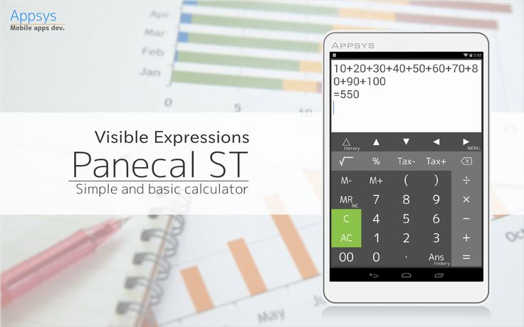Calculator PanecalST Plus v4.3.3   Miercoles 6 de Enero 2015.  Por: Yomar Gonzalez | AndroidfastApk  Calculator PanecalST Plus v4.3.3 Requirements: 2.3 and up Descripción: Calculadora simple que cuenta con una gran pantalla. Calculadora simple que cuenta con una gran pantalla. Esto incluye características a continuación:  Cuatro operaciones aritméticas impuestos memoria y cálculo ciento  Gran pantalla evita confundir a las expresiones de entrada  Fácil edición mediante el uso de una…