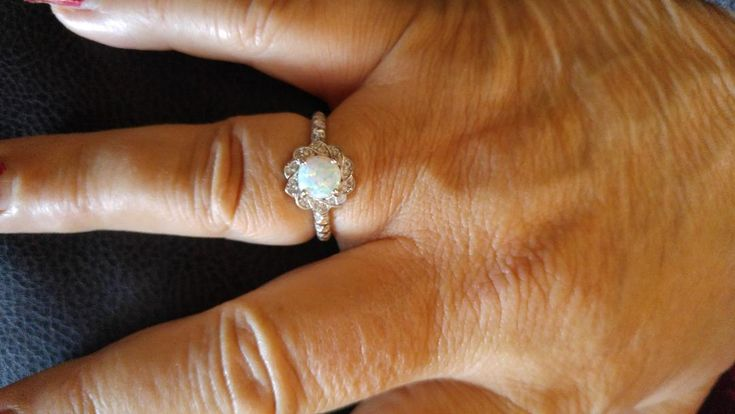 Opal Ring. From Under the Mistletoe Candle. Worth $60.00
