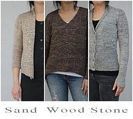 Ravelry: Sand Wood Stone - patterns