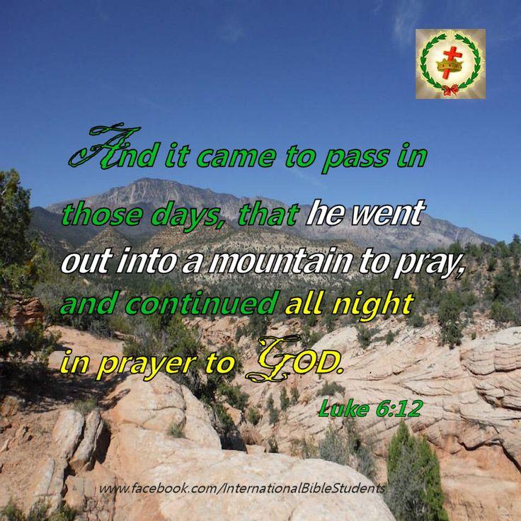 Luke 6:12