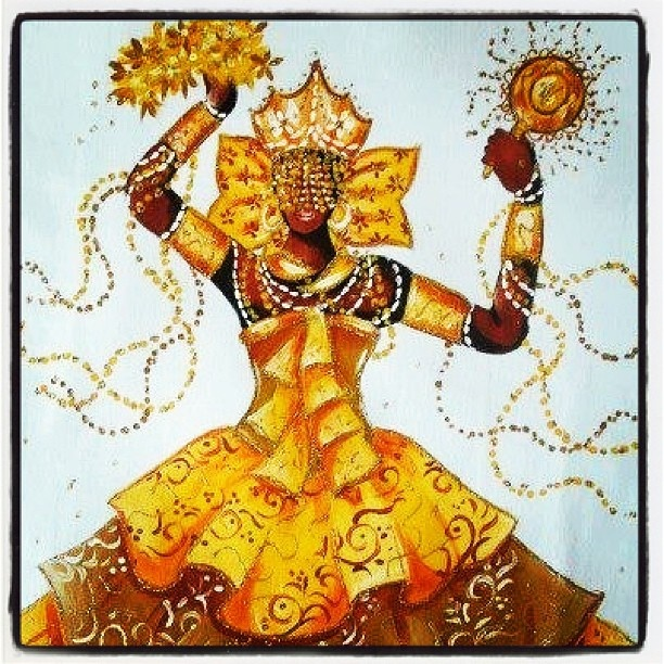 What I want to experience - Oshun's energy of love and radical feminine confidence