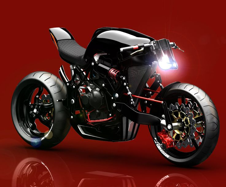 Fallout concept motorcycle