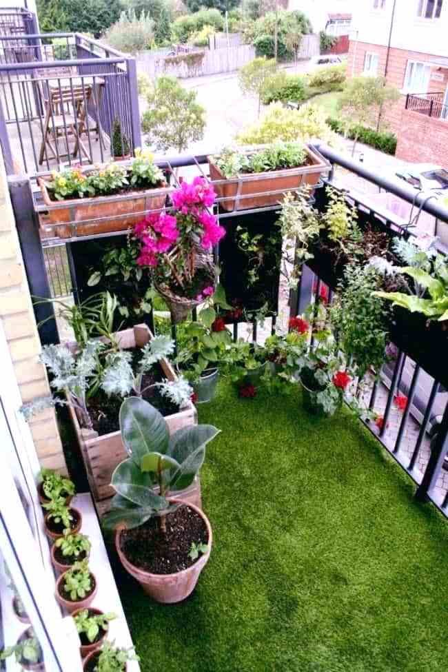 Creative Container Vegetable Gardening Ideas マンションの