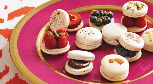 mmmmm...: Elle Decor, Food, French Macaroons, Vanilla Macaron, French Macaron, Desert Recipes, Daniel Boulud, Frenchmacaron, Macaron Recipes