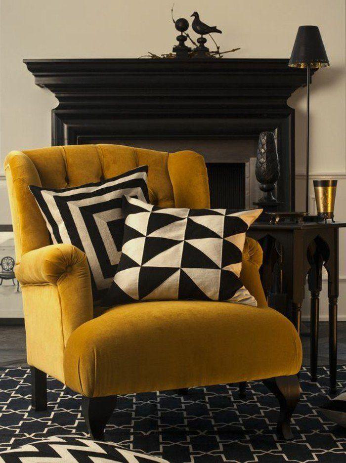 La couleur moutarde est de nouveau là! Voyez nos idées de jolis décos d'intérieurs personnalisés avec cette teinte qui a bien du caractère.