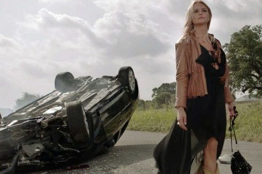 Miranda Lambert Survives a Crash in 'Vice' Video