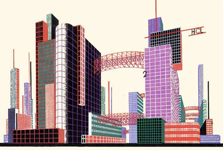 Iakov Chernikhov's Architectural Fantasies   Magical Urbanism