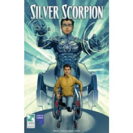 The Silver Scorpion TP As seen in hundreds of major media outlets around the world such as Time The New York Post USA Today Fox News NPR and more experience the origin story of a new disabled superhero Silver Scorpion Based http://www.MightGet.com/january-2017-13/the-silver-scorpion-tp.asp