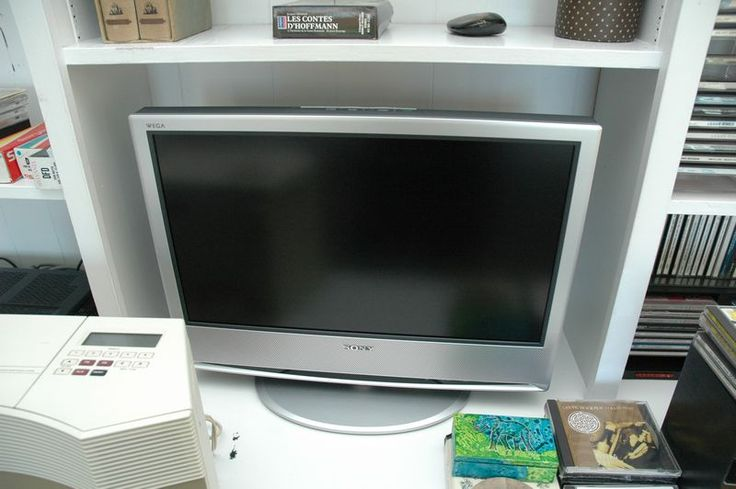 "Electronics lot to include 2 small Sony flat screen televisions (24""), DVD player, CDs, Bose CD WAVE system, Aquous flat screen"