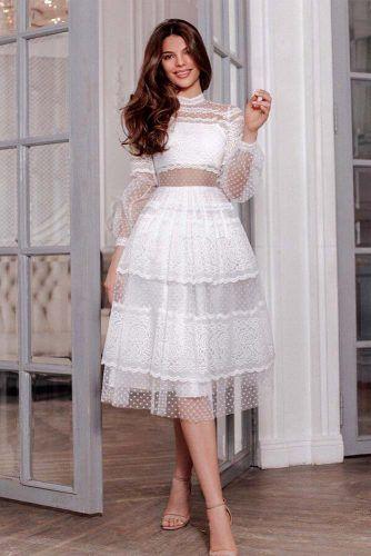 18 WHITE GRADUATION DRESSES DESIGNS FOR STYLISH BABES – My Stylish Zoo