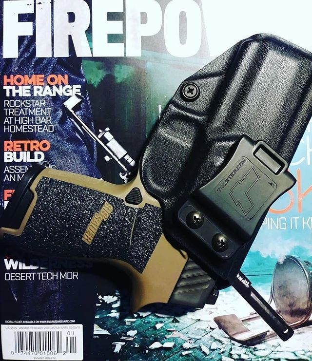 Sig Sauer P320 9mm/.40 Compact/Carry IWB/AIWB Kydex Holster - Profile Holster - Right Hand