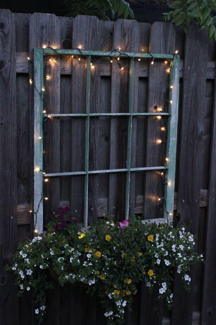 32 Spaß und Inspiration Alte Fenster im Freien Dekor Ideen, die Ihren Garten bauen …