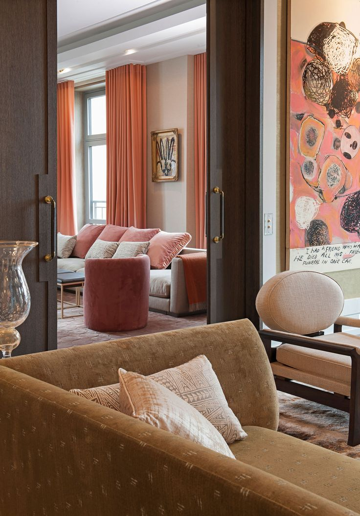 Kate Hume   Interiors - Project: Downtown Apartment