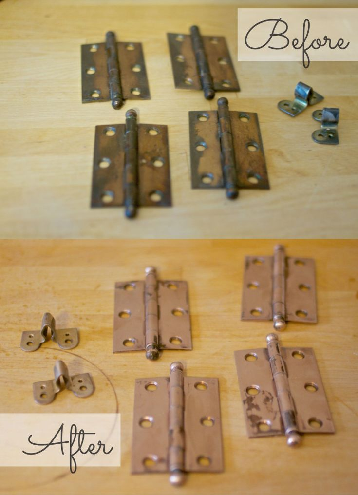 How To Clean Door Hinges Cleaning, How To Clean Hinges On Kitchen Cabinets