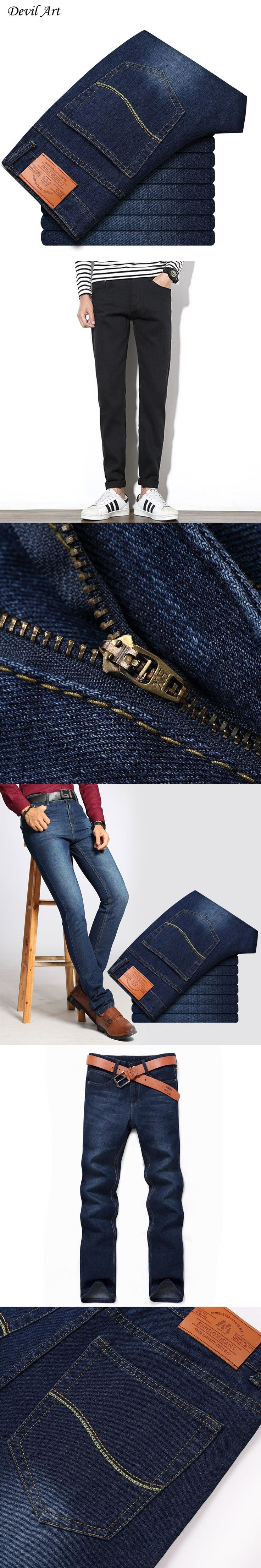 Free Shipping New 2017 Designer Jeans Men Jeans Famous Brand Skinny Jeans Men Low Factory Price Pants Male Denim Trousers  28-44