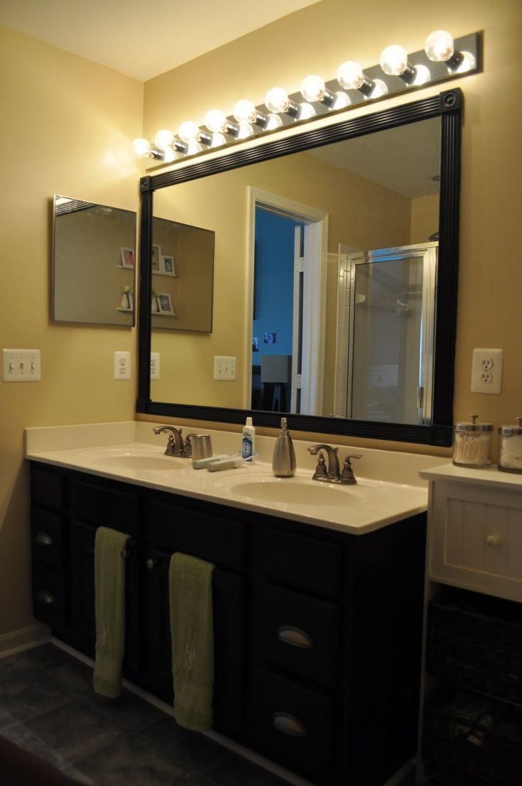19 best images about house staging on pinterest cabinets - Small bathroom vanity mirror ideas ...