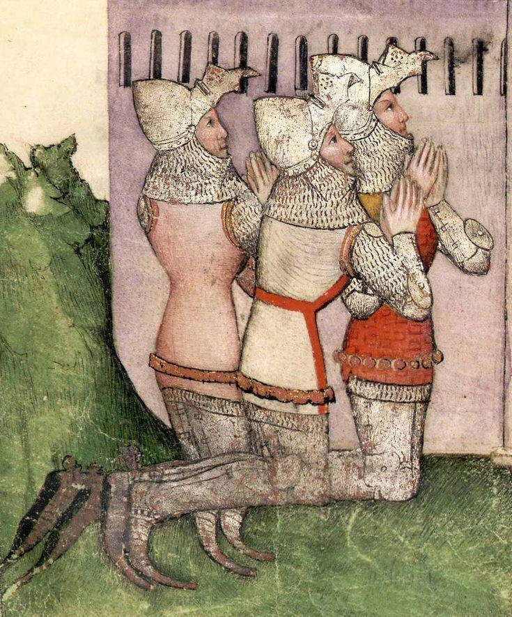 Manuscript BNF Français 343 Queste del Saint Graal / Tristan de Léonois Dating 1380-1385 From Milan, Italy Holding Institution Bibliothèque Nationale
