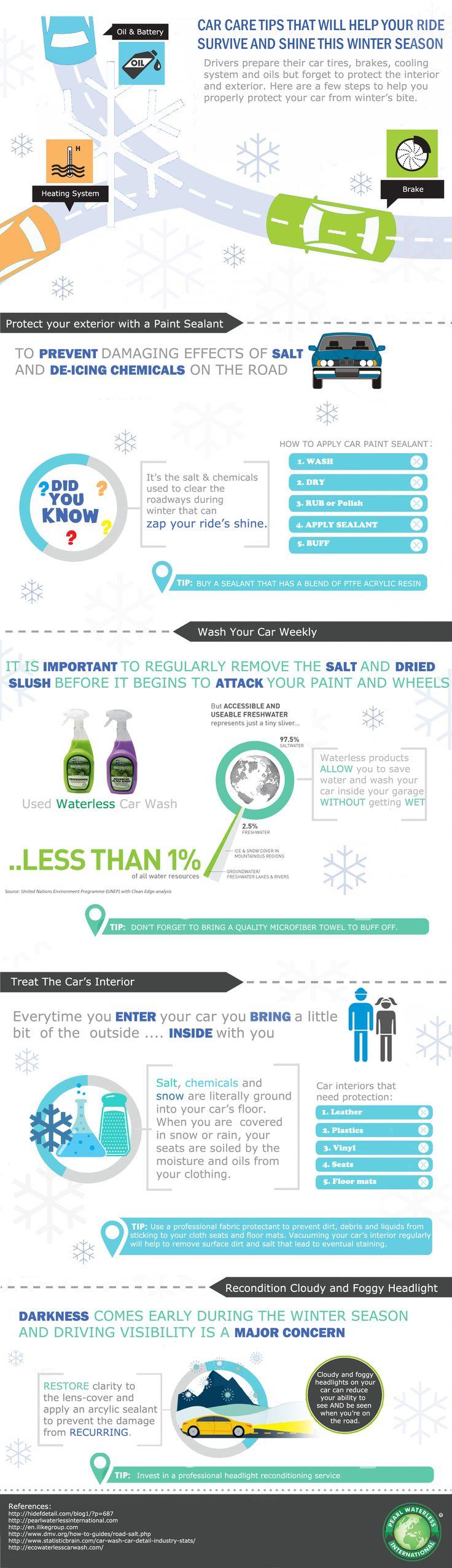 Winter car care tips by pearl waterless car wash pearlwaterlessinternational com