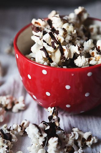 black and white popcorn - a sweet & salty snacky gift