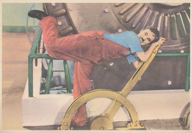 Charles Chaplin, 1956; figurina Il Monello