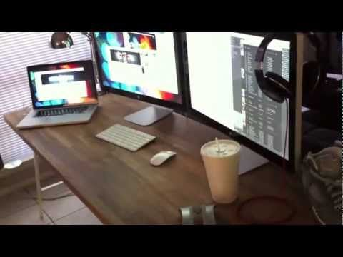 3 Monitor - Macbook Pro with Daisy Chained Thunderbolt Display 2x ...