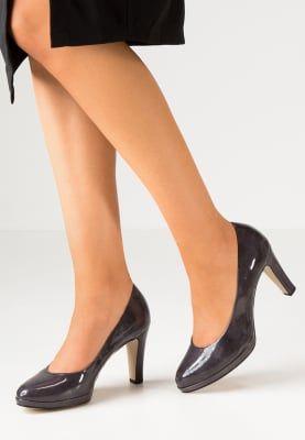 Chaussures Gabor Escarpins à talons hauts - titan gris foncé: 62,95 € chez Zalando (au 20/12/16). Livraison et retours gratuits et service client gratuit au 0800 797 34.