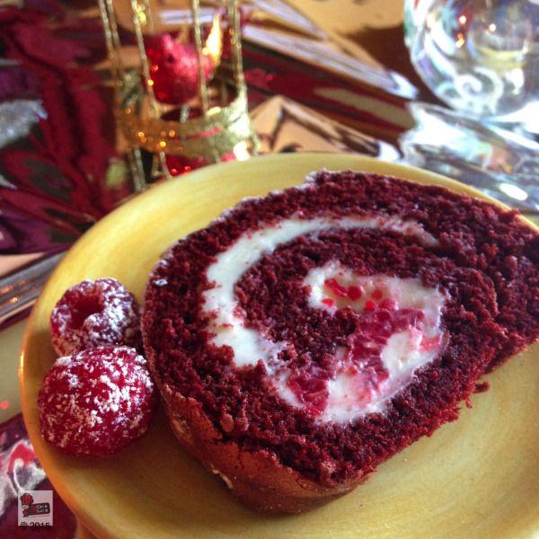 Mmmmmm, You can't beat a good red velvet roll