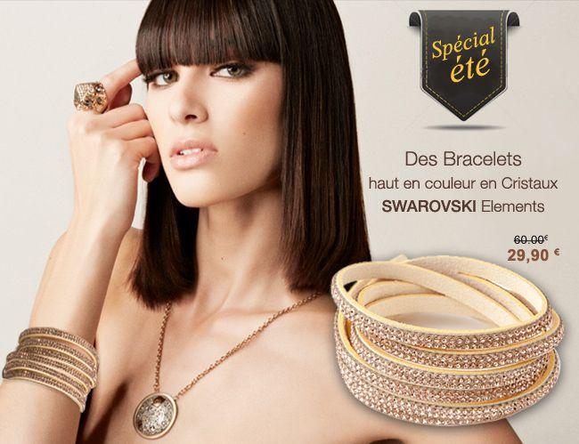 bracelets spécial été #swarovski #summer #couleur