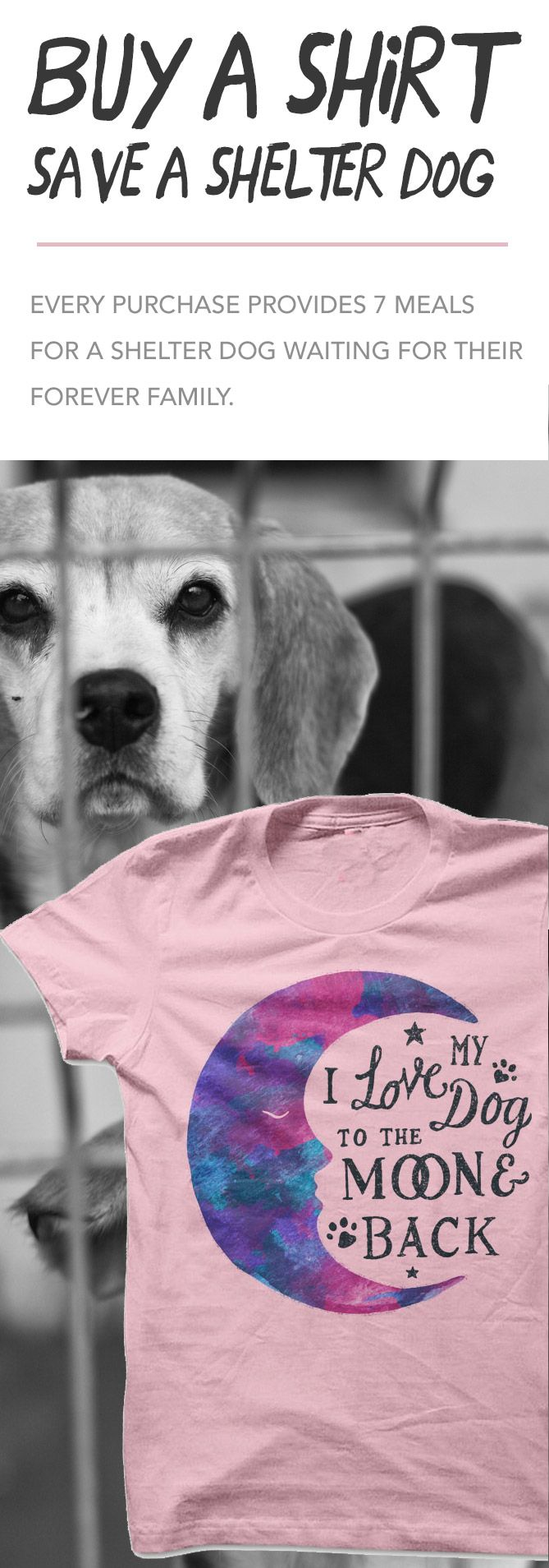 Buy a shirt, save a shelter dog. LOVE THIS! http://iheartdogs.com/product/moon-watercolor/?utm_source=PinterestNetwork_MoonWatercolorSave&utm_medium=link&utm_campaign=PinterestNetwork_MoonWatercolorSave