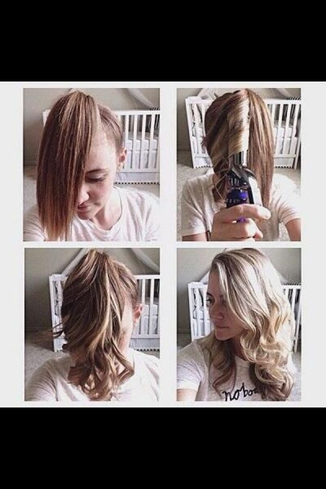 How to curl your hair in 5 minutes