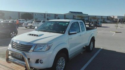 Toyota Hilux in South Africa