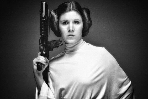 Star Wars Leia sem sutiã