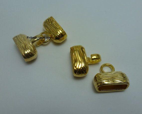 10 OFF2 Zamak clasps Golden / Hole 20.5mmX 6.5mm by frameyourbag, €3.99