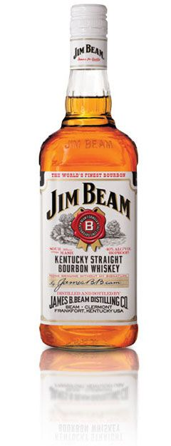 The Original Kentucky Straight Bourbon Whiskey | Jim Beam White Label: This I use to make the quinticesstial Southern Drink. Bourbon and Ginger. Only Boozey drink I have on a normal basis... other than wine and an occasional amber beer.
