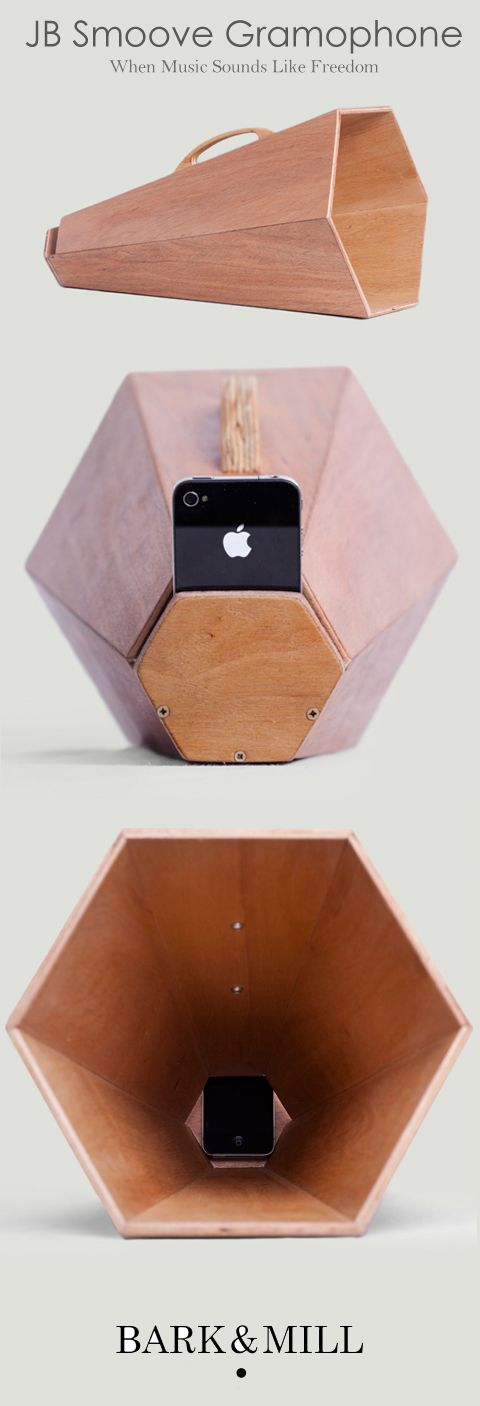 We are very excited to announce that we collaborated with friends of ours from Bow and Bevel in Stellenbosch and came up with a completely new product to add to our range. Introducing a portable speaker for your mobile phone the JB Smoove Gramophone. #wood #design #speaker #mobilespeaker