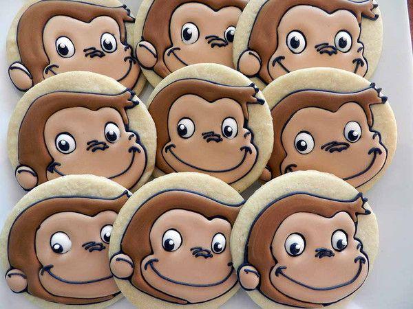 Flour Box Bakery — Tidbits - curious George cookies