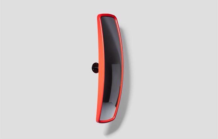 Юмористический проект от дизайнера Sebastian Wrong (Англия)  выпуклое зеркало заднего вида для вашего интерьера. #ConvexMirror #SebastianWrong #detail #London #detail #design #indetaildesign