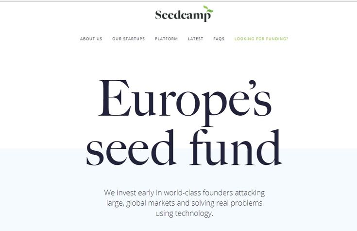 Europe's Seedcamp Announces $54 Million Funds To Invest In 100 Startups  #Europe #seedcamp #investor #startups #business #funds  #new #technews #tech #technology #webserveu #upcoming #GCP #DWTS #HOUvSEA #SDLive #ChampsVsStars #VoiceSaveJon #OurDay #ImACeleb #WorldHelloDay #TuesdayThoughts #MugabeResigns #Moreno #TFCLive #Stars #QUTGoodData #inclusionindex #SDLive #SnapSydney #fwdorg