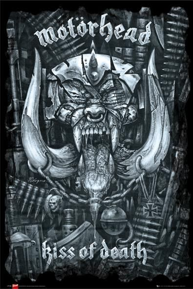 Motorhead Kiss Of Death Poster