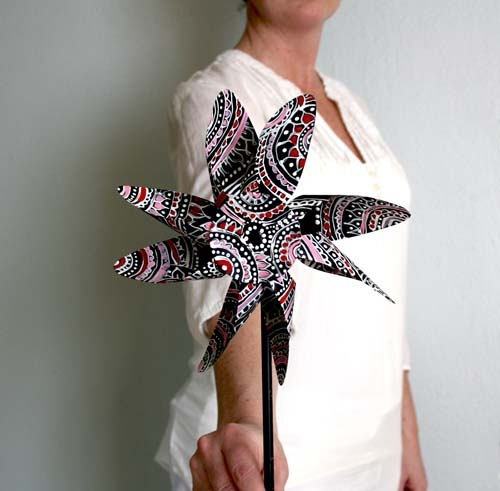 alisaburke: painted pinwheel tutorial
