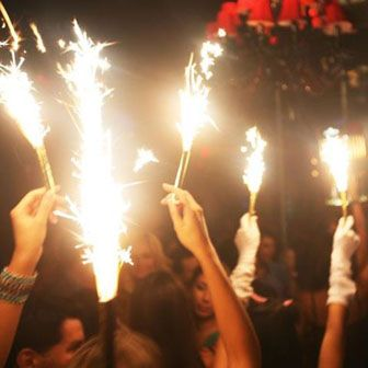 ViP Sparklers Champagne Bottle Sparklers!