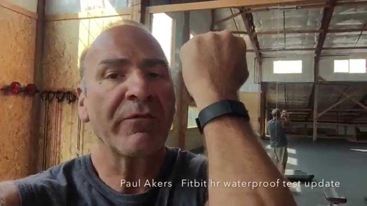 Fitbit Charge HR Waterproof Test Update