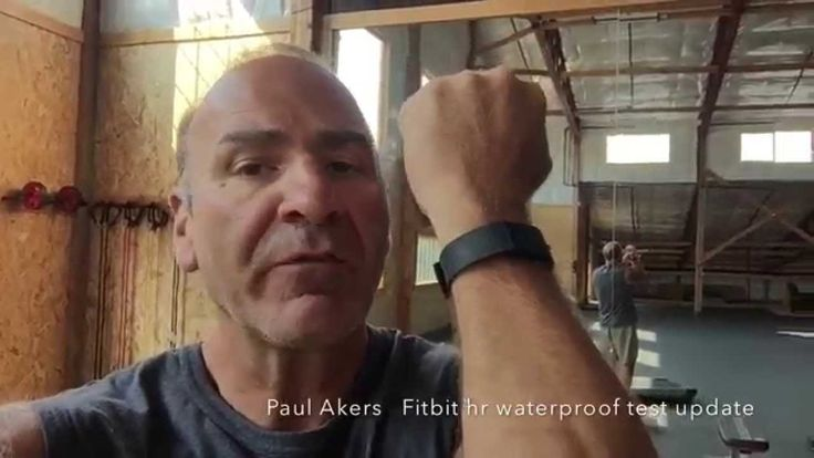 Fitbit Charge HR Waterproof Test Update