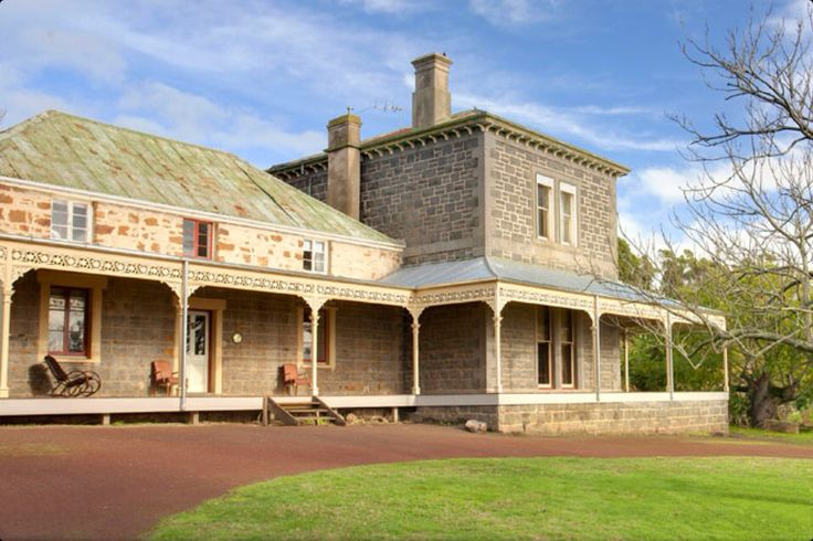 Tarndwarncoort, at Warncoort (between Colac and Winchelsea), is one of the oldest homesteads in Victoria.