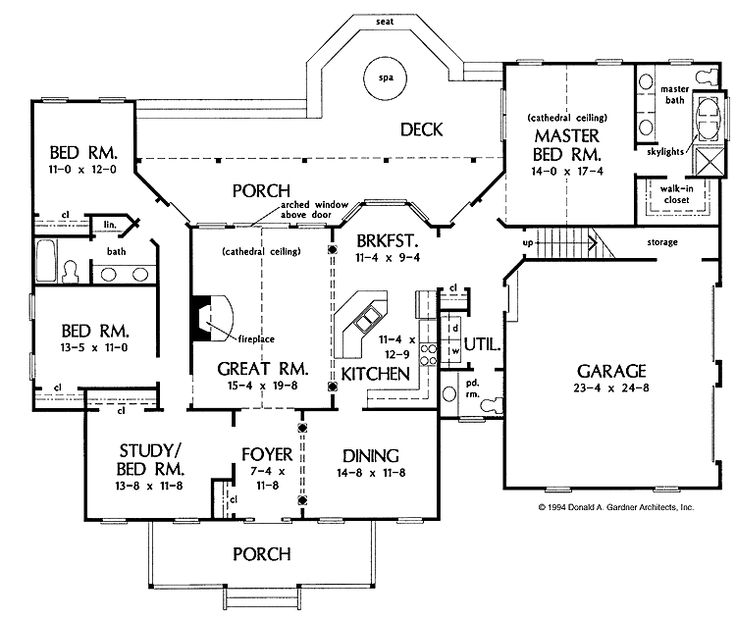 Floor plan 2 4/2/1 2500 sq feet