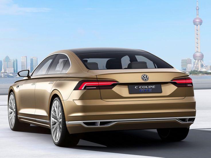 VW C Coupé GTE 2015: Phaeton-Vision in Shanghai
