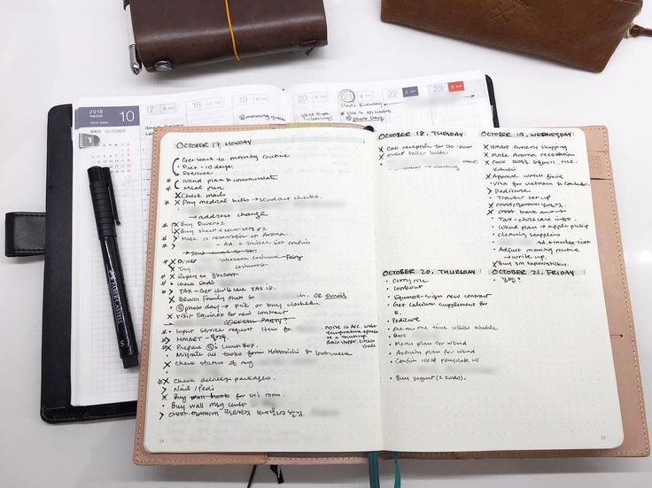 My best buddies these days. I used to write down daily to-dos in my hobonichi cousin's daily pages but the list was getting too long and encroaching into my journaling space. So I've decided to use a #leuchtturm1917 for daily tasks. But in a way that I can see the whole week. On the left, I put Monday only, as it tends to be the busiest day and also I can brain dump that week's tasks. And on the right, Tuesday through Friday. It is working pretty well and it has been extremely productive…